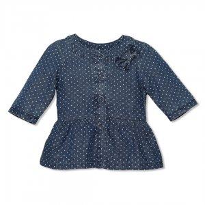 لباس بچه گانه دخترانه | خرید اینترنتی لباس بچه گانه ، کت تک جین دخترانه