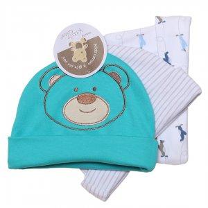 خرید اینترنتی کلاه نوزادی | پک 3 تایی کلاه نوزادی کازترز اصل با جنس 100%پنبه .