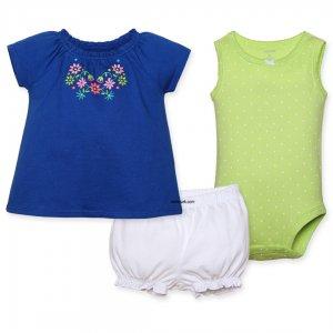 لباس دخترانه تابستانی | ترکیب رنگی فوق العاده شاد و تابستانی 100% نخ پنبه