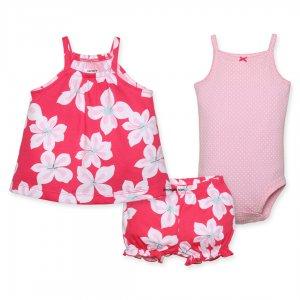 لباس تابستانی دخترانه کارترز | 100درصد نخ پنبه فوق العاده زیبا و راحت