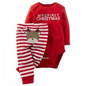 لباس کریسمس بچه گانه | ست مخصوص کریسمس 100% نخ پنبه و مقرون بصرفه