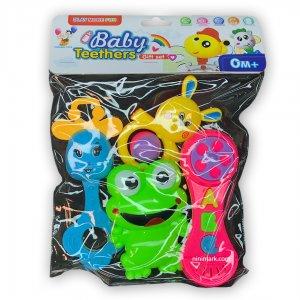 ست اسباب بازی هدیه دندونی نوزاد دخترانه