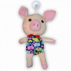 عروسک خوک توپول صورتی