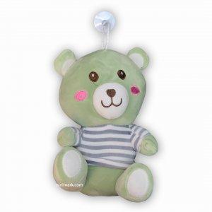 عروسک خرس مهربون سبز
