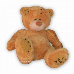 عروسک خرس لاو لاوی حنایی