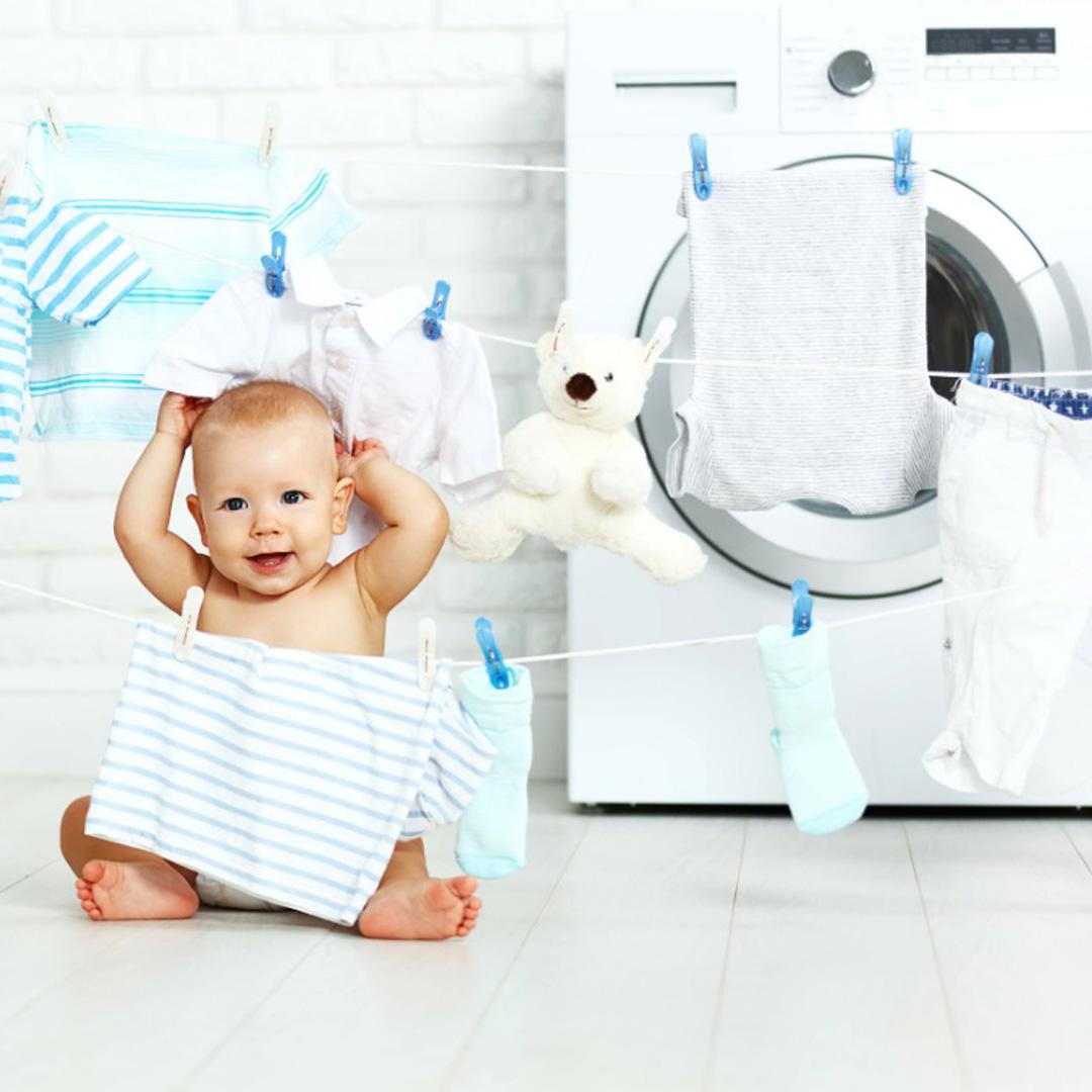 تمام آنچه که درباره شستن صحیح لباس کودک بایستی بدانید